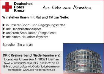 DRK-Kreisverband Niederbarnim e.V.