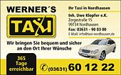 Taxibetrieb Werner Gemmrich