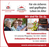 Ambulanter Pflegedienst Dr. Krantz GmbH – K&S Seniorenresidenz