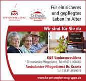 Ambulanter Pflegedienst Dr. Krantz GmbH – K&S Seniorenresidenz
