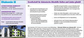 Gesellschaft für diakonische Altenhilfe Gießen und Linden gemeinnützige GmbH