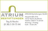 Atrium Bestattungen GmbH