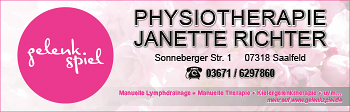 Janette Richter – Physiotherapie
