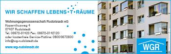 Wohnungsgenossenschaft Rudolstadt eG