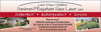 Senioren-Pflegeheim Haus Lauer GmbH