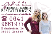 Bestattungen Irmgard Bodelle